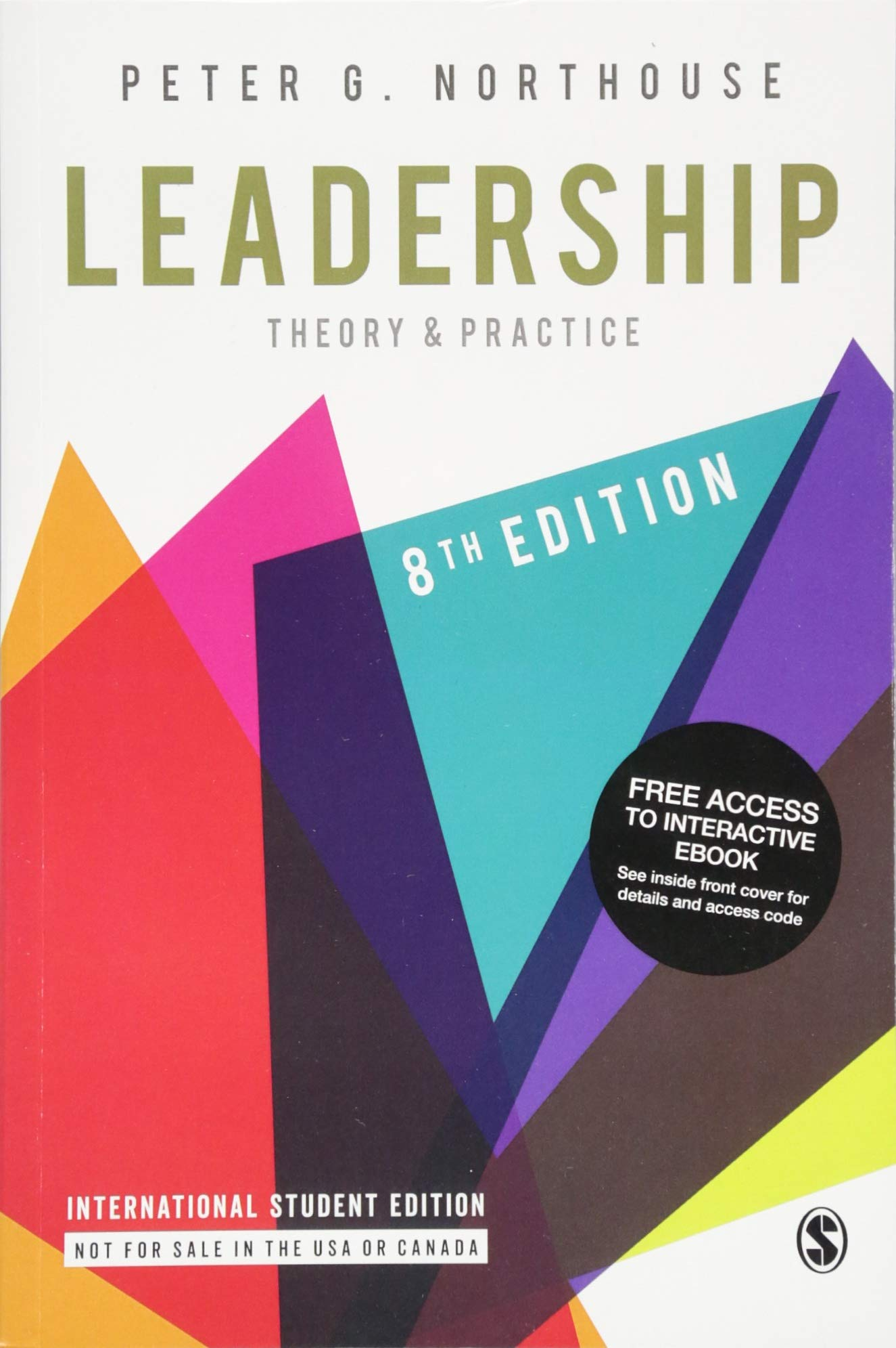 Leadership Theory and Practice Book Cover